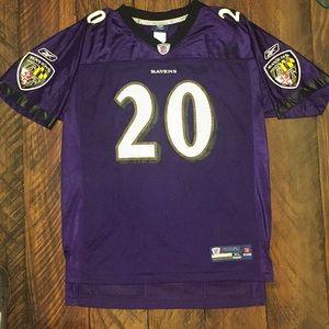 EUC Baltimore Ravens Ed Reed jersey in kid's XL